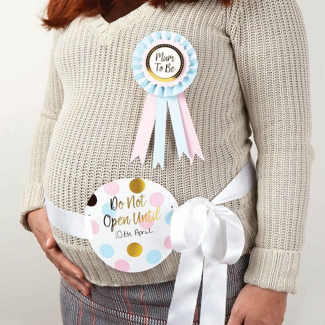 Neviti Mum-To-Be Ribbon & Rosette Kit