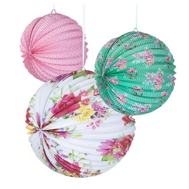 Talking Tables Truly Scrumptious Paper Lanterns