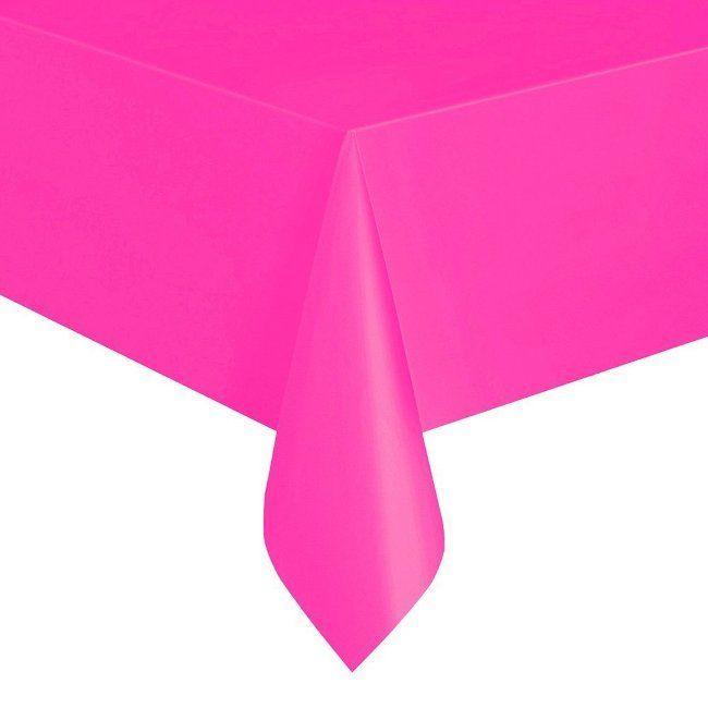 Unique Neon Pink Table Cover