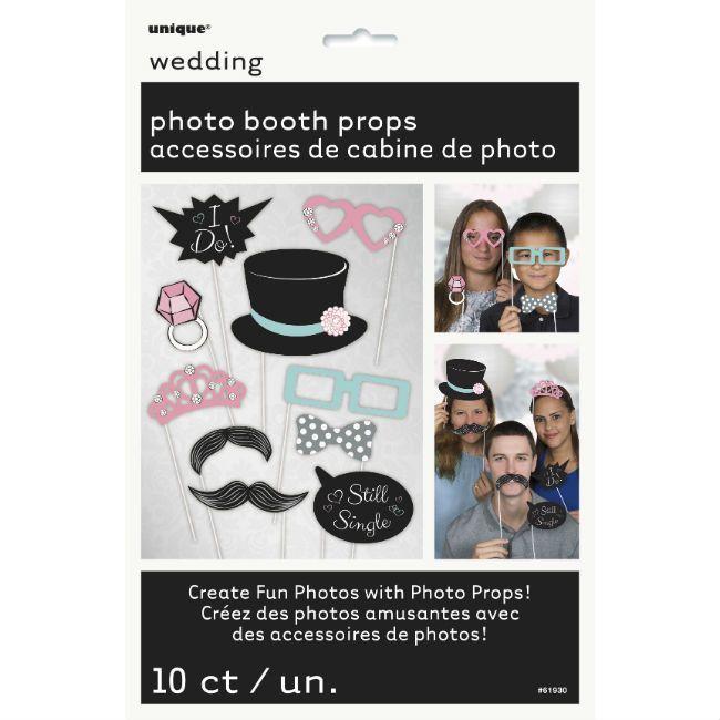 Unique Wedding Photo Booth Props
