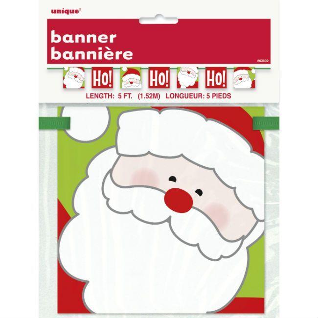 Unique Ho Ho Ho Christmas Banner
