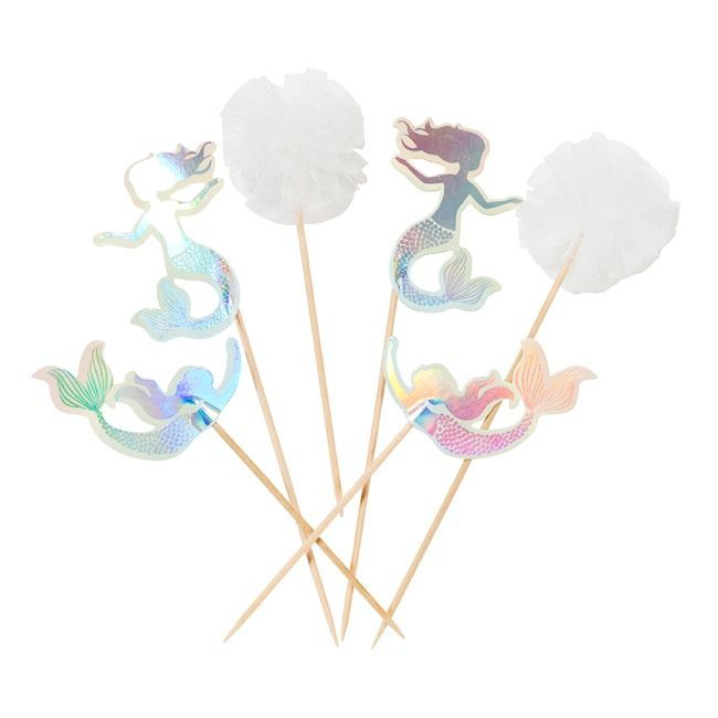 Talking Tables We Heart Mermaids Cake Toppers