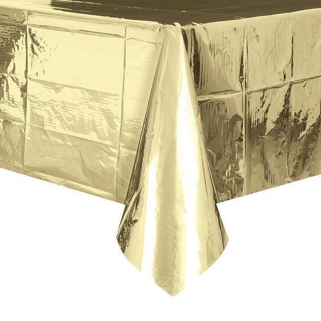 Unique Gold Foil Table Cover