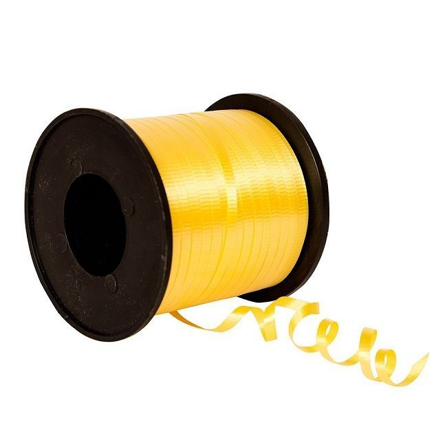Unique Daffodil Yellow Curling Ribbon