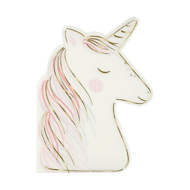 Meri Meri Unicorn Large Napkin