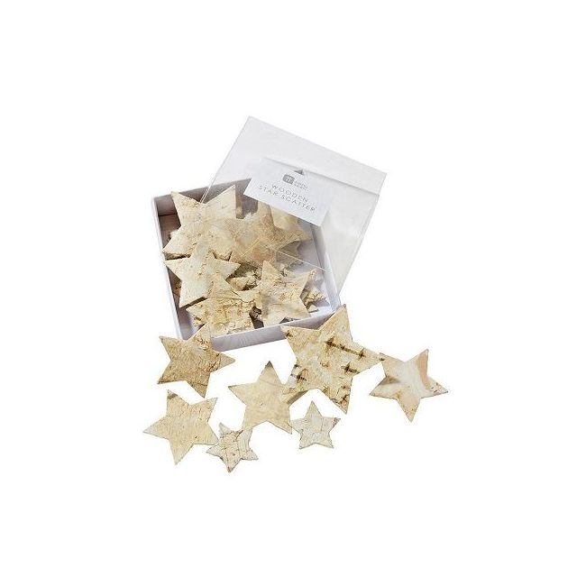 Talking Tables Nordic Wooden Star Shaped Scatter