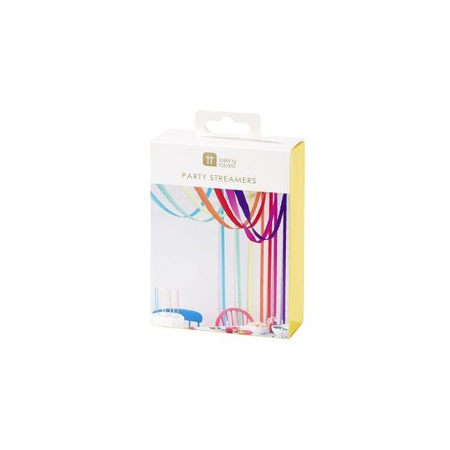 Talking Tables Rainbow Paper Streamers