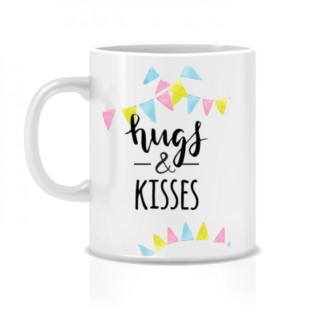 Twinkle Hands Hugs and kisses Mug