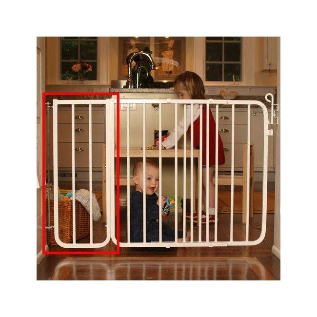 Cardinal Gates White Bx1 Gate Extension 10-5