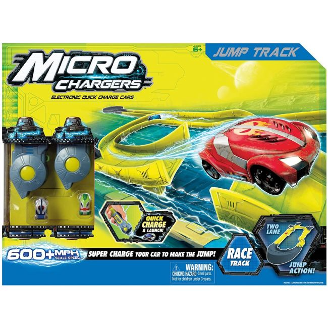 I Girl Bontempi - Micro Chargers Jump Track 2 Launchers