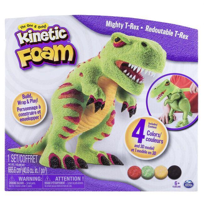 Kinetic Sand - Foam Mighty T-Rex