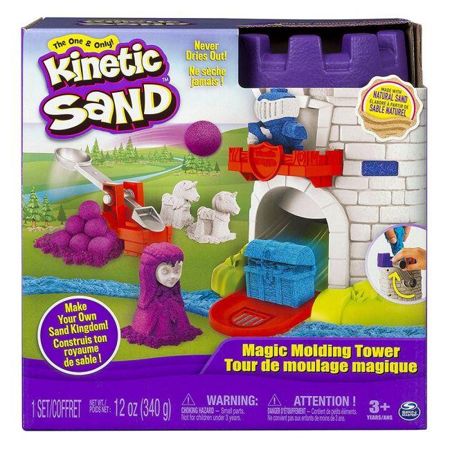 Kinetic Sand - Magic Molding Tower - 12oz