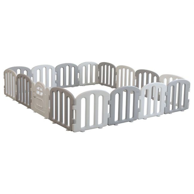iFam -  First Baby Room 200 x 280 White & Light Grey 14EA