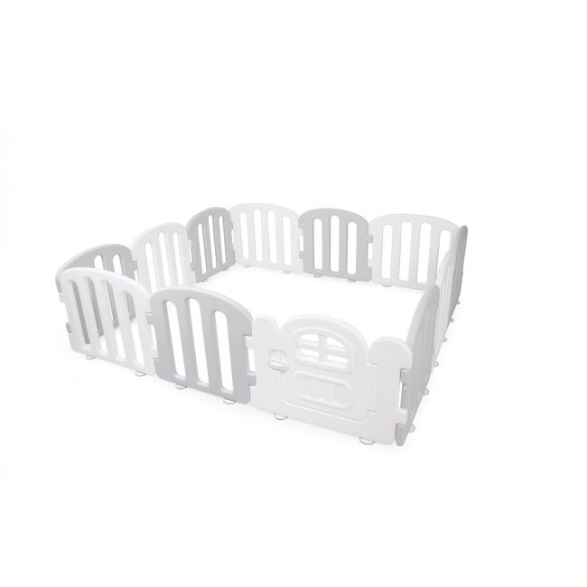 iFam -  First Baby Room 180 x 200 White & Light Grey 12EA