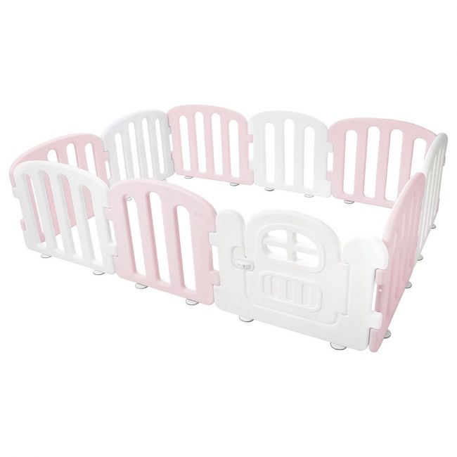 iFam - First Baby Room Playard - Pink & White