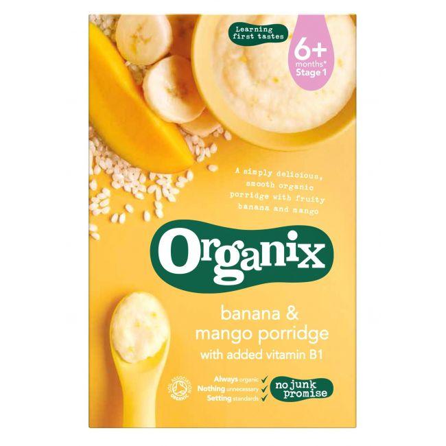 Organix Banana & Mango Porridge 120g