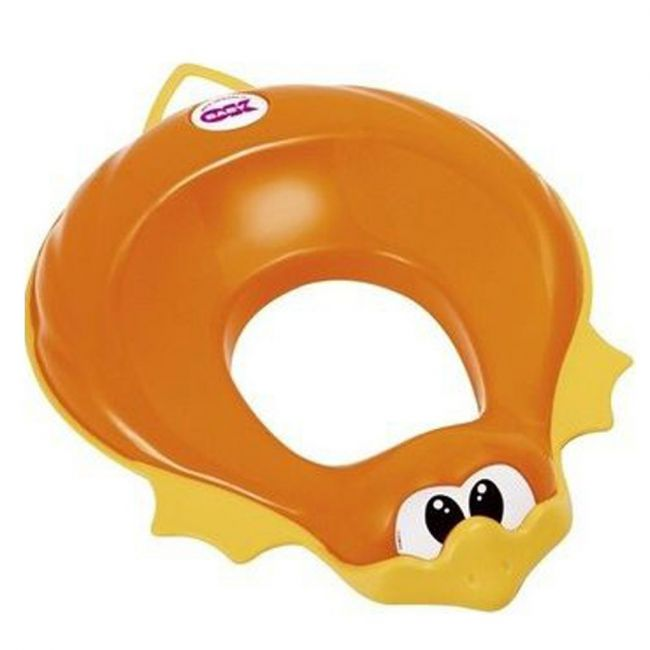 OKbaby - Ducka Funny Toilet Seat Reducer - Orange