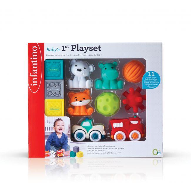 Infantino - Baby S 1St Play Set