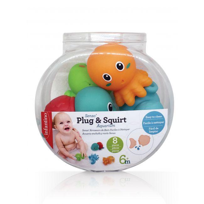 Infantino - Senso Plug Squirt Aquarium Toys