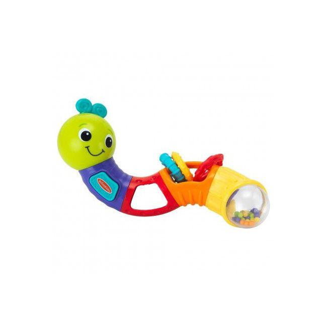 Infantino - Twist Play Caterpillar Rattle
