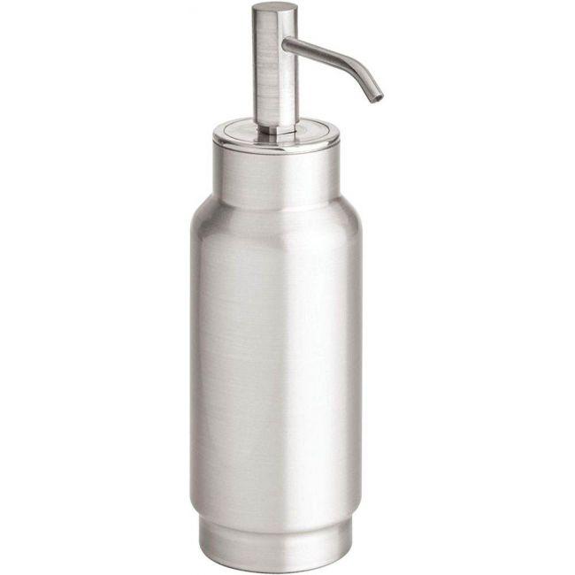 Interdesign - Austin Liquid, Stainless Steel Refillable Bathroom Dispenser Matte Silver