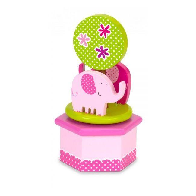 Fiesta Crafts Elephants Musical Box