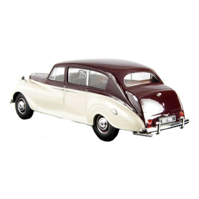 Oxford Diecast Maroon Old English White Princess (Late) Toy Car