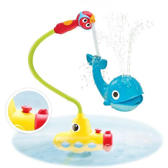 Yookidoo Submarine Spray Whale Bath Toy