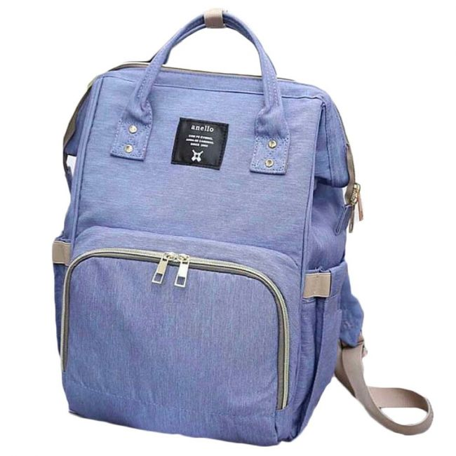 Pikkaboo - Anello Diaper Bag - Blue Denim