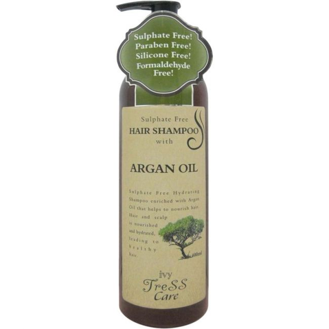 Ivy Tress - Care Hydrating Hair Shampoo With Argan Oil - 400ml