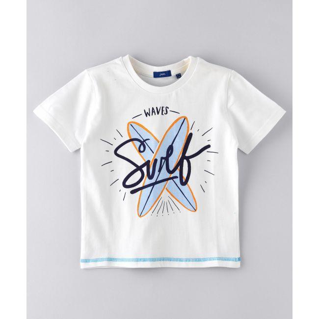 Jam -  Cotton Slub Jeresey T Shirt White