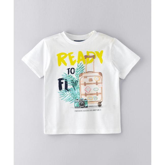 Jam -  Short Sleeves T Shirt White