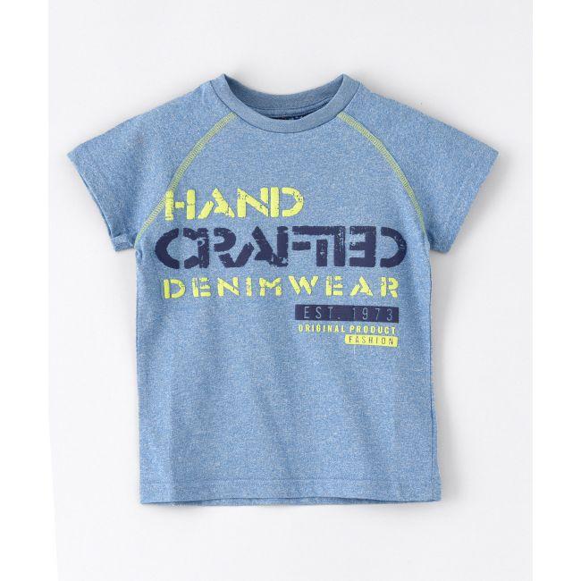 Jam -  Raglan Slv T Shirt Blue