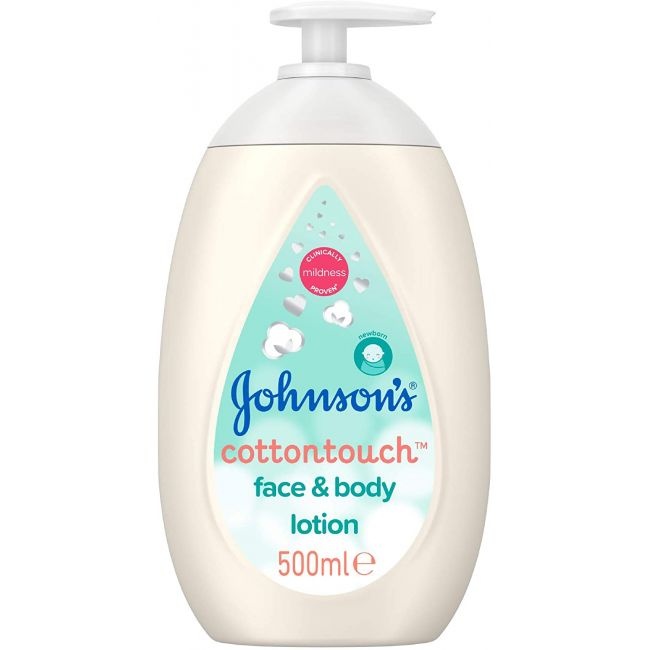 Johnson's - Cotton Touch Face And Body Lotion - 500ml