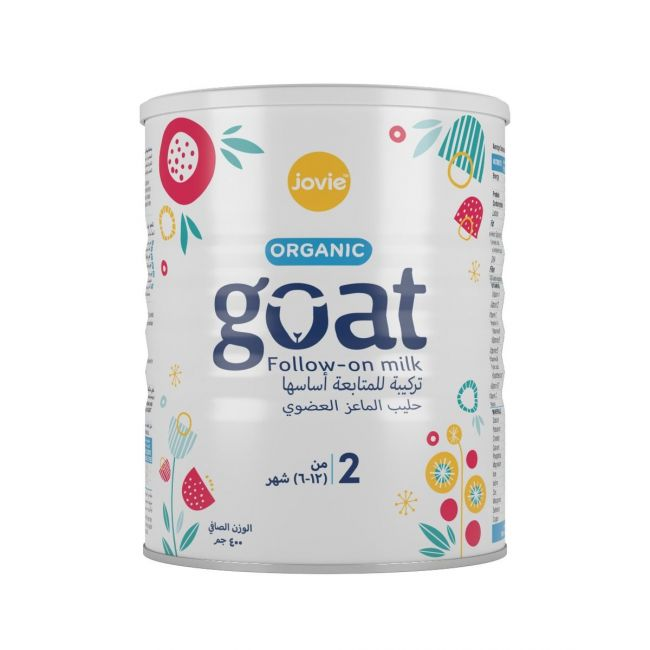 Jovie - Goat 2 Organic Goat Milk Follow-On Formula