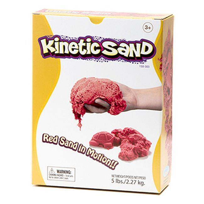 Kinetic Sand - Relevant Kinetic Sand - Red