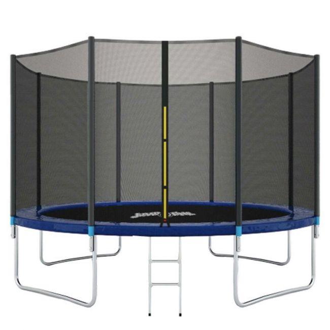 Jumpoline - Trampoline With Ladder - 14Ft