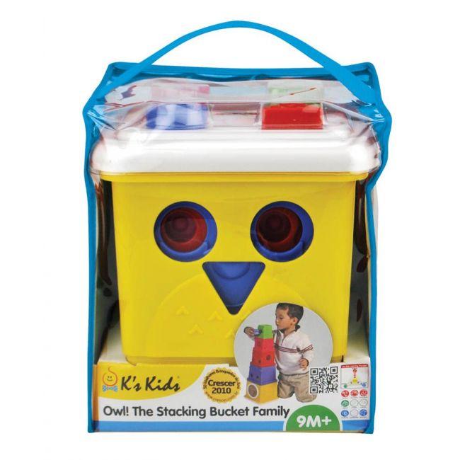 K'S - Kids Owl! The Stacking Bucket Family