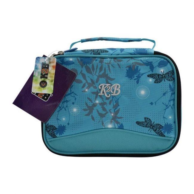 K2B Blue Buttrfly Lunch Bag