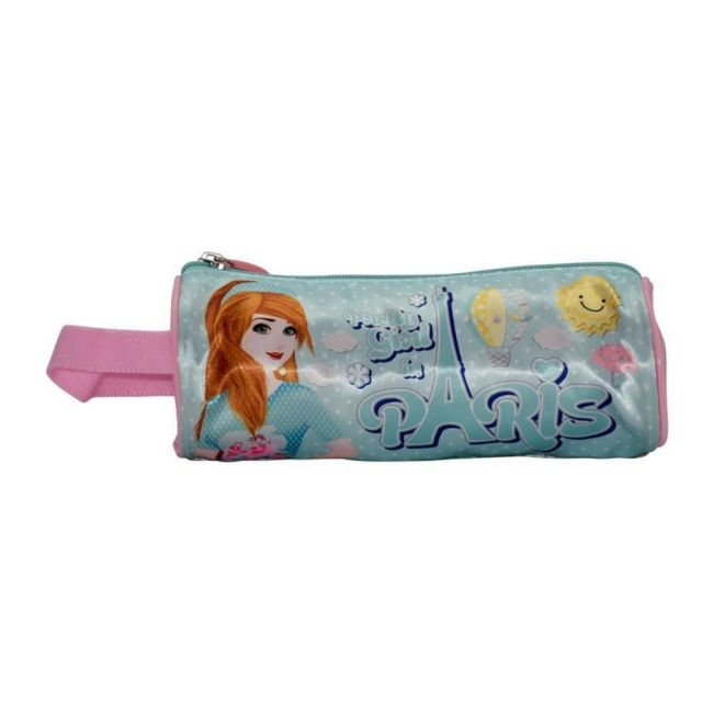 K2B Round Pretty Girl Pencil Case