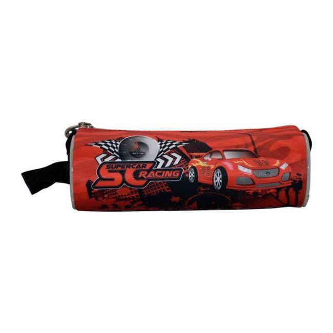 K2B Round Super Car Pencil Case