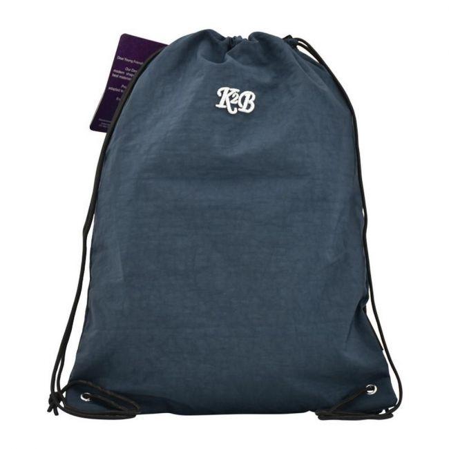 K2B Navy Blue String Bag
