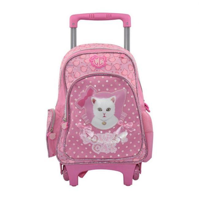 K2B 14 Inch Lovely Cat Trolley Bag
