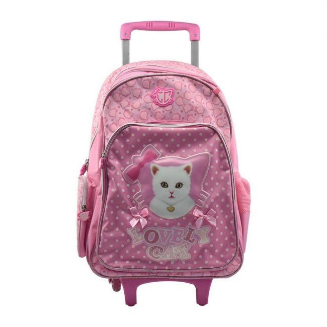 K2B 19 Inch Lovely Cat Trolley Bag