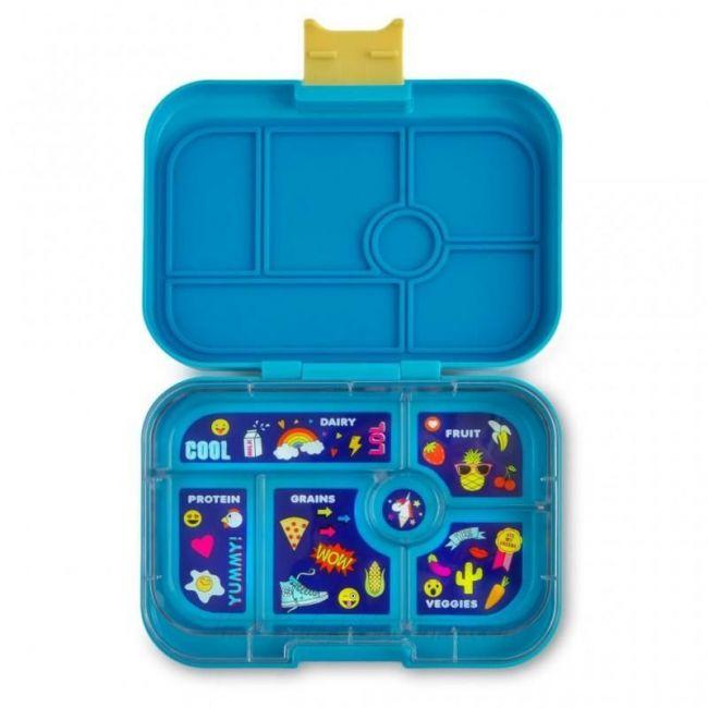 Yumbox Kai Blue 6 compartments Bento Lunch box