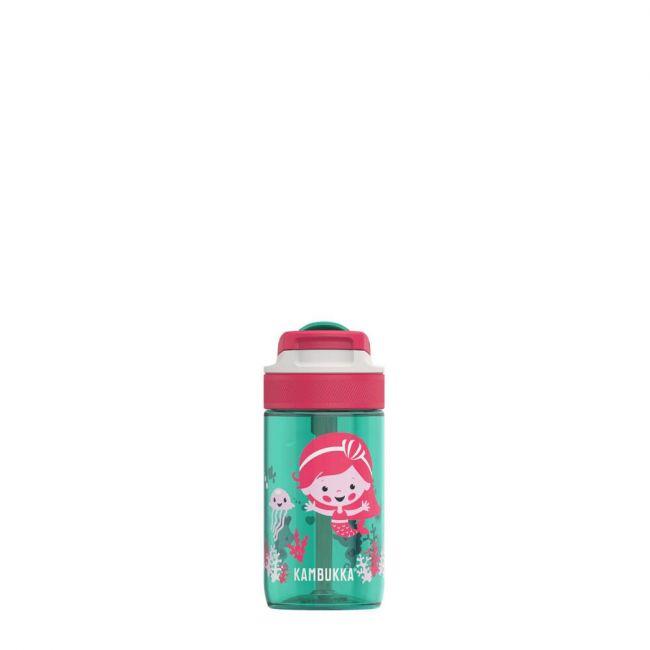 Kambukka - Lagoon Water Bottle With Spout Lid - 400 Ml - Ocean Mermaid