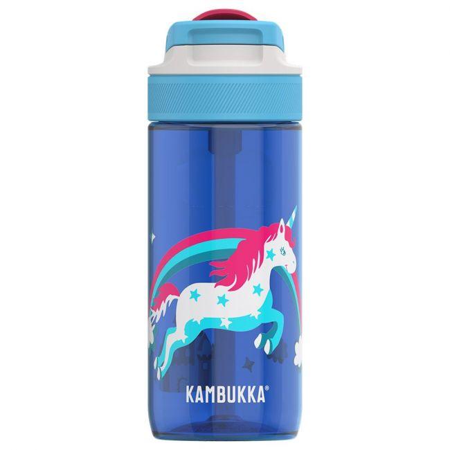 Kambukka - Lagoon Water Bottle With Spout Lid - 500 Ml - Rainbow Unicorn