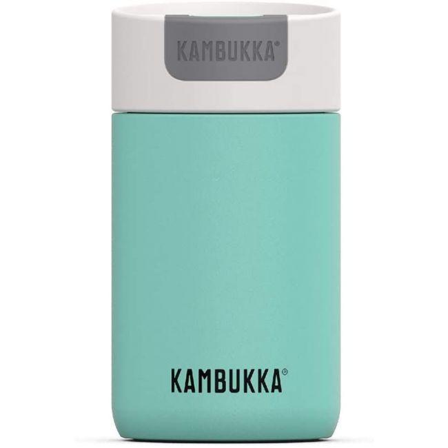 Kambukka - Olympus Coffee & Tea Mug - 300 Ml - Cool Mint - Switch Lid - Snapclean Technologie