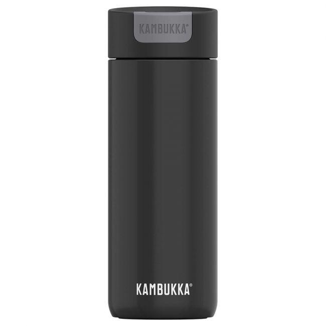 Kambukka - Olympus Coffee & Tea Mug - 500 Ml - Darkness - Switch Lid - Snapclean Technologie