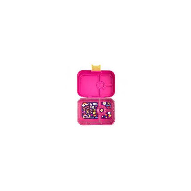 Yumbox Kawaii Pink 4 compartments Bento Lunch box